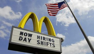 Young workers are having a hard time getting even entry-level jobs. McDonald's managers, who once hired a lot of first-time workers, now can choose older employees with more experience who don't have to wait until classes end to show up. (Associated Press)