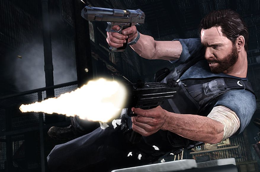 Guns are often blazing in the video game Max Payne 3.