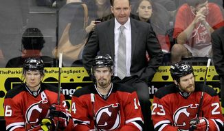 Peter DeBoer didn't take Florida to the postseason in any of his three seasons with the Panthers, but New Jersey general manager Lou Lamoriello saw something he liked when he hired DeBoer last July. Now, DeBoer has the Devils back in the Stanley Cup Final.(Associated Press)