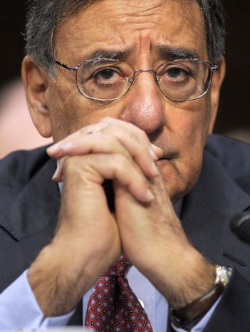 """Republicans and Democrats """"have a responsibility to come together and find the money necessary to de-trigger sequester,"""" Defense Secretary Leon E. Panetta said on ABC's """"This Week."""" (Associated Press)"""