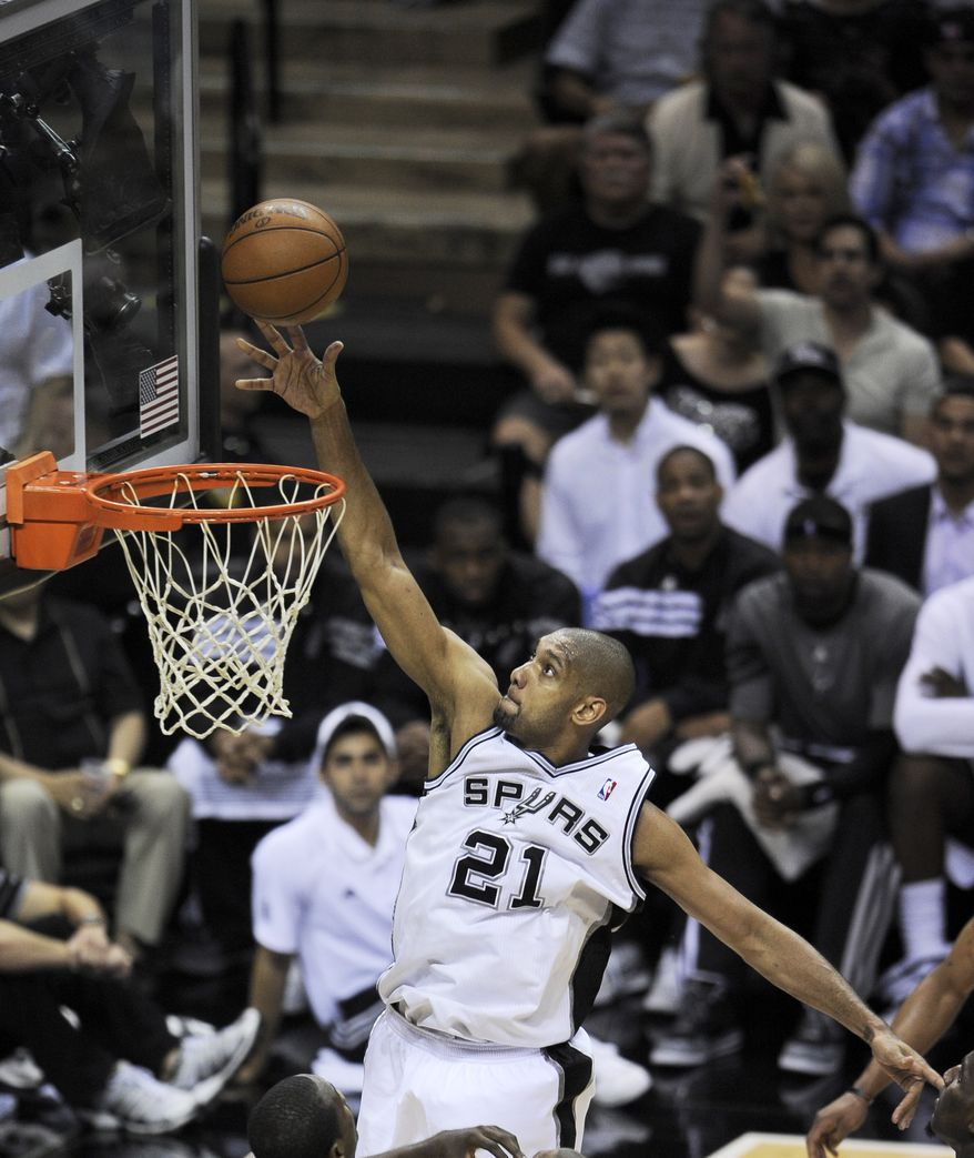 In 27 seasons with the NBA lottery system, the Spurs are the only franchise to win a championship with a player, Tim Duncan, it drafted first overall. (AP Photo/Darren Abate)