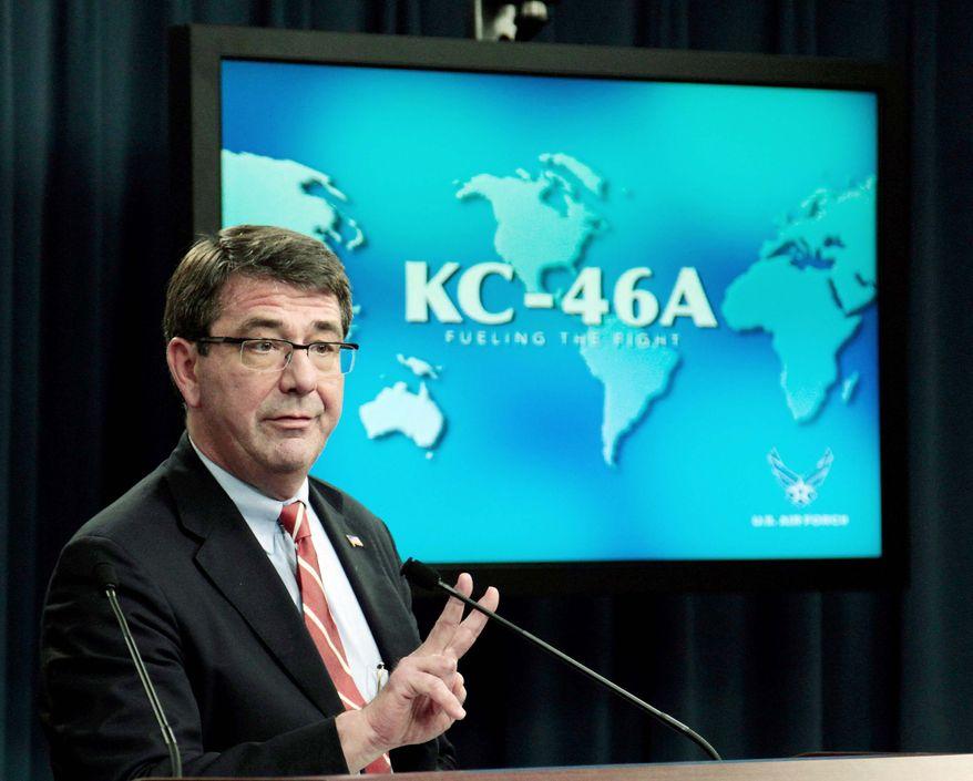 **FILE** Deputy Defense Secretary Ashton Carter (Associated Press)