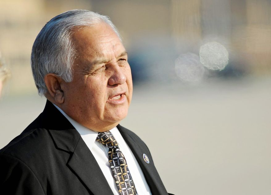 In a major upset Tuesday, eight-term Rep. Silvestre Reyes was defeated in his bid for the Democratic nomination in Texas' 16th Congressional District despite an endorsement from President Obama. (Associated Press)