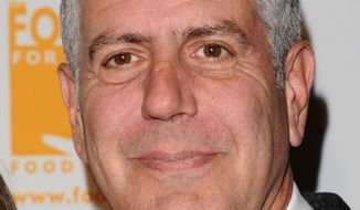Celebrity chef Anthony Bourdain (AP Photo/Peter Kramer)