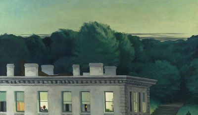 "Edward Hopper's ""House at Dusk"" (1935) is set to be loaned by the Virginia Museum of Fine Art in Richmond to the Thyssen-Bornemisza Museum in Madrid. (Katherine Wetzel/Virginia Museum of Fine Arts)"