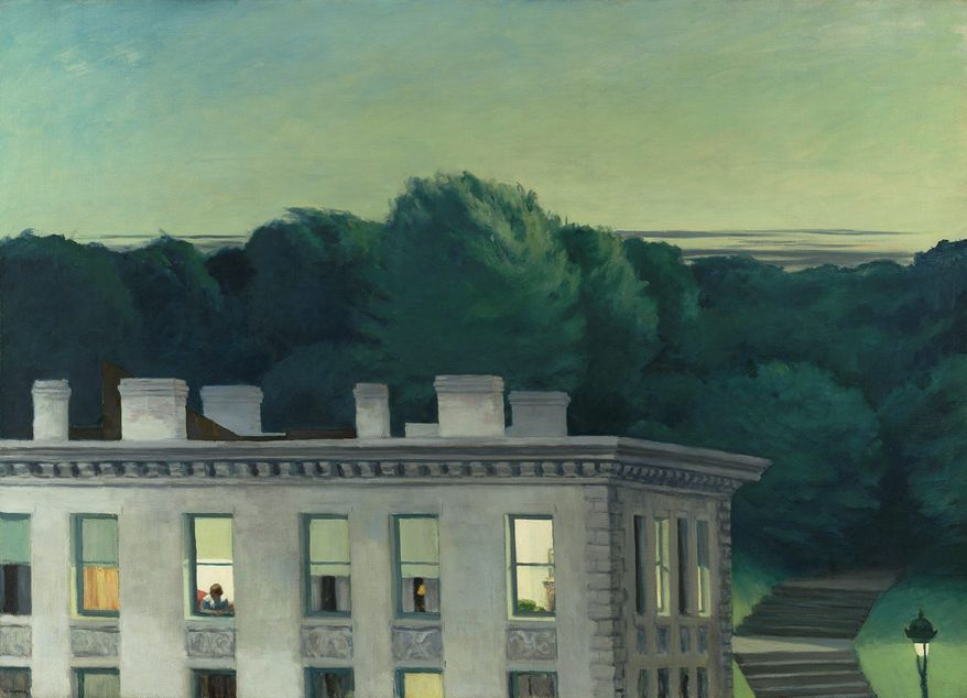 """Edward Hopper's """"House at Dusk"""" (1935) is set to be loaned by the Virginia Museum of Fine Art in Richmond to the Thyssen-Bornemisza Museum in Madrid. (Katherine Wetzel/Virginia Museum of Fine Arts)"""