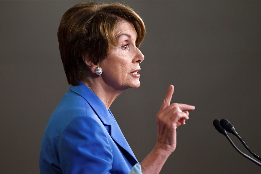 House Minority Leader Nancy Pelosi, California Democrat (Associated Press)