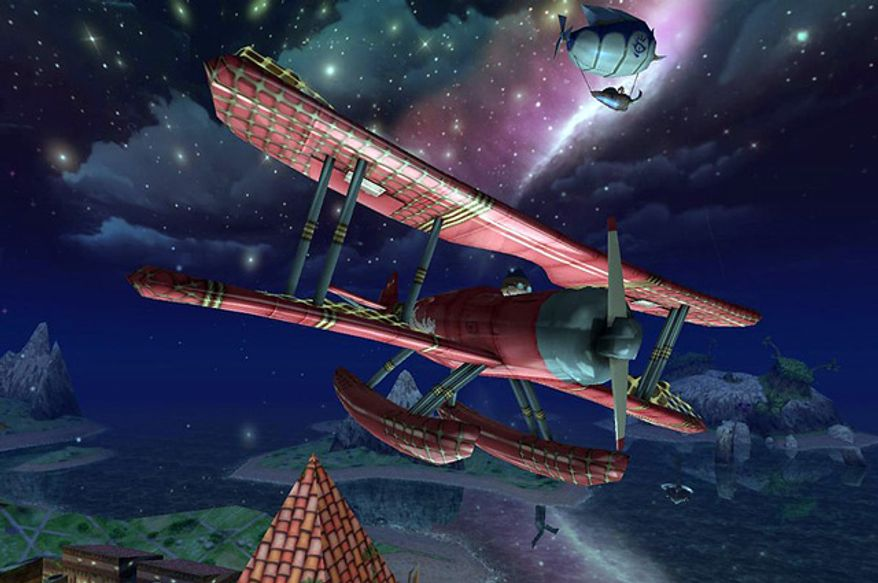 Help young pilot Scoop save the citizens of Domeeka in the iPad game Air Mail.