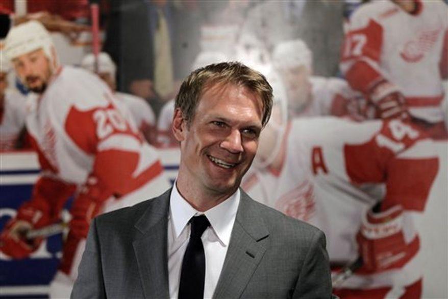 Nicklas Lidstrom retired Thursday after 20 NHL seasons. (Associated Press)