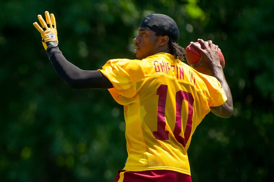 Washington Redskins announced their 2012 training camp schedule, which begins July 26. (Andrew Harnik/The Washington Times)