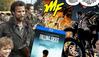 Falling Skies: The Complete First Season on Blu-ray features a look at the Dark Horse Comics series.
