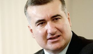 "Elin Suleymanov, Azerbaijan's ambassador to the U.S., said he is familiar with Russian propaganda. ""What you have here is a very strong virtual effort to produce a narrative designed to provide Armenia with an excuse to invite Russian forces into the conflict to carry out an anti-terrorism operation against Azerbaijan,"" he said. (The Washington Times)"