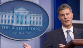 Alan B. Krueger, then-chairman of the White House Council of Economic Advisers in this file photo, died recently. ** FILE **