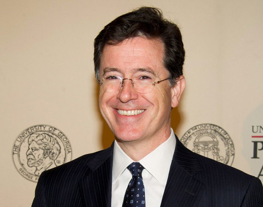 """Stephen Colbert, author of """"America Again: Re-becoming the Greatness We Never Weren't,"""" will appear at BookExpo America on Tuesday in New York."""