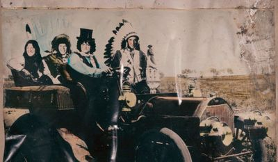"""Album cover for Neil Young and Crazy Horse's """"Americana"""""""