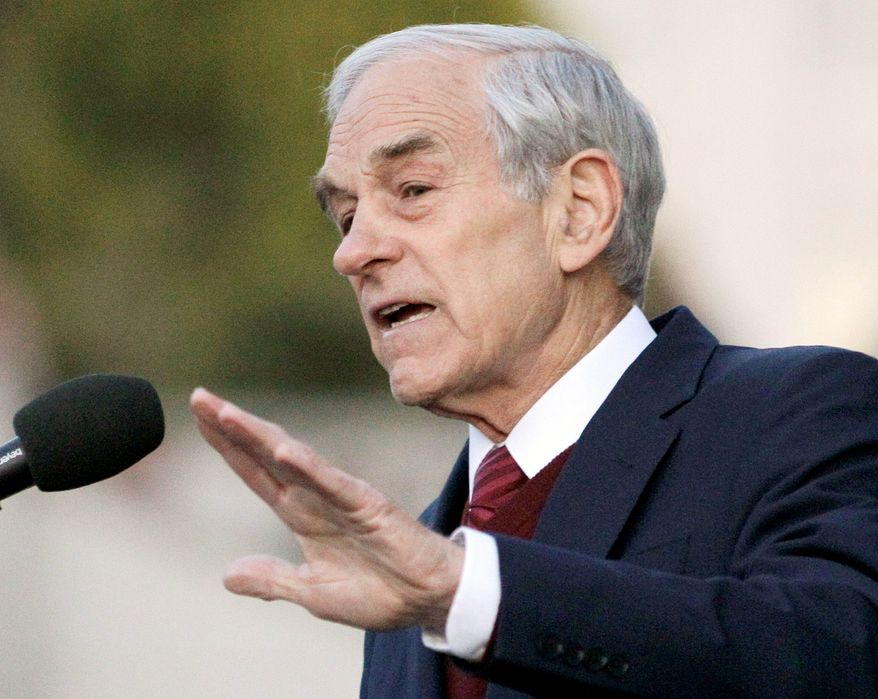Supporters of Rep. Ron Paul want the Republican National Convention organizers to give approval for a three-day PaulFest, a festival honoring the Texas congressman and presidential candidate the weekend before the gathering. (Associated Press)