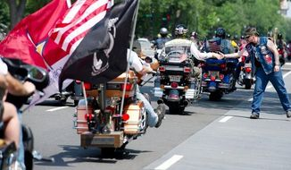25th annual Rolling Thunder ride