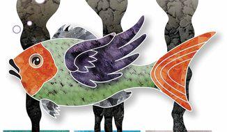 Illustration Florida mercury by Greg Groesch for The Washington Times