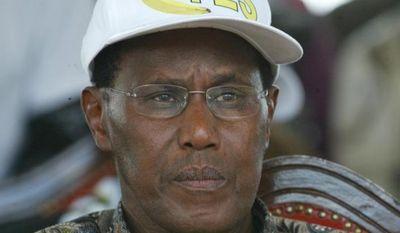 ** FILE ** Kenyan Internal Security Minister George Saitoti is seen during a state function in Nairobi, Kenya, in November 2005. (AP Photo/Sayyid Azim)