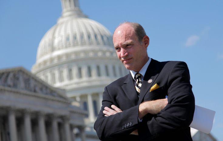 ** FILE ** This June 11, 2012, file photo shows Rep. Thaddeus G. McCotter, Michigan Republican. (Associated Press)