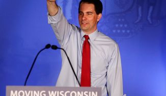 **FILE ** Wisconsin Gov. Scott Walker (Associated Press)