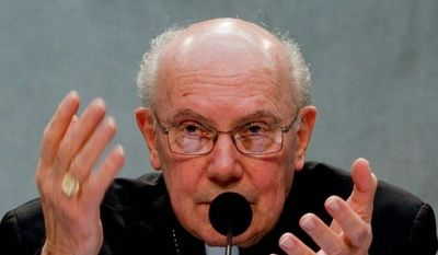 Cardinal William Levada of the United States is the Vatican's chief doctrinal official. (Associated Press)
