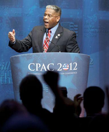 ** FILE ** Former Republican Representative from Florida, Allen West. Associated Press)