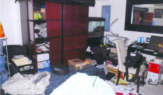 Sgt. Corrigan's apartment