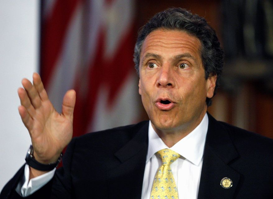 New York Gov. Andrew Cuomo, a Democrat, reportedly will lift a moratorium on fracking, allowing the gas-extraction technique to be used in the southern part of the state. (Associated Press)