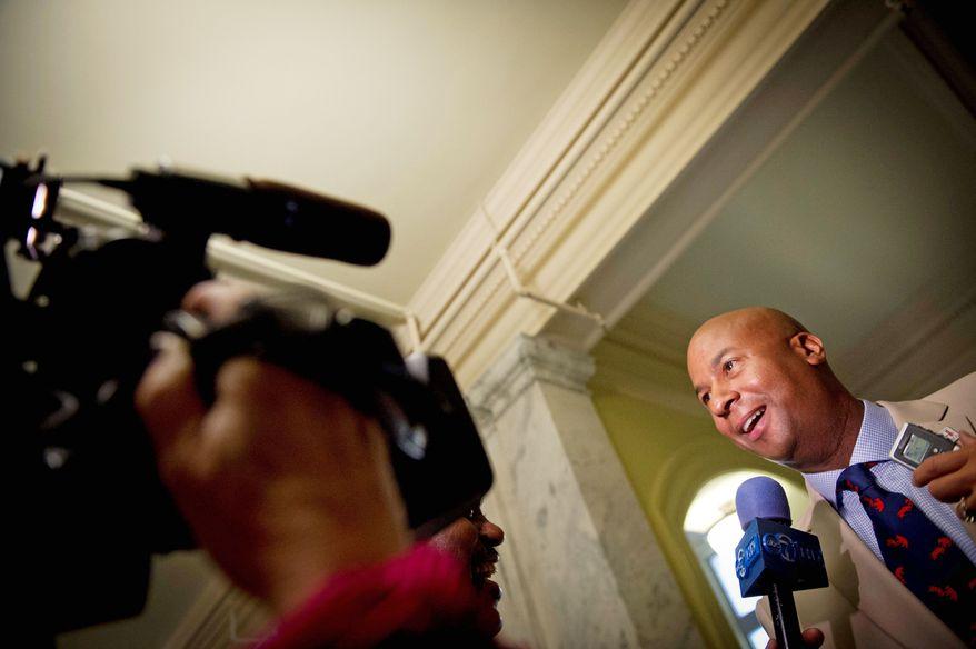D.C. Council member Michael A Brown (Rod Lamkey Jr./The Washington Times)