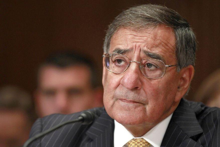 ** FILE ** Defense Secretary Leon Panetta testifies June 13, 2012, on Capitol Hill in Washington. (Associated Press)