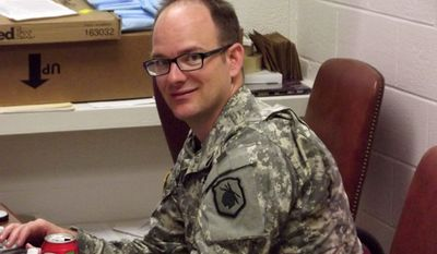 Army 1st Sgt. Matthew Corrigan