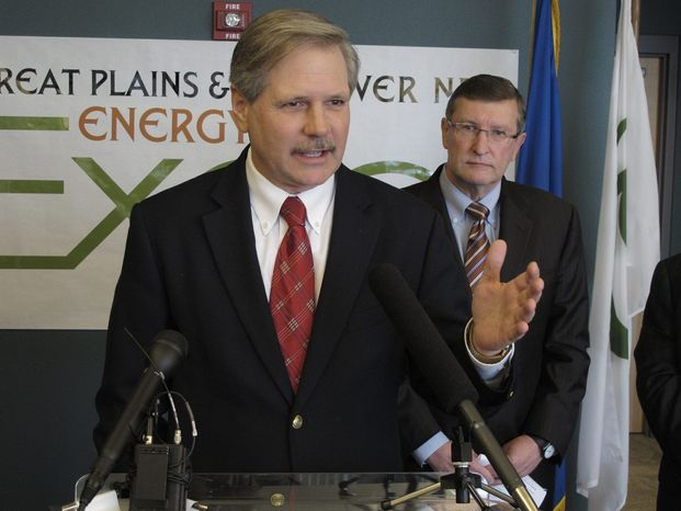 """Sen. John Hoeven, Republican of North Dakota, complained about """"another obstructive tactic"""" over the Keystone XL pipeline. (Associated Press)"""
