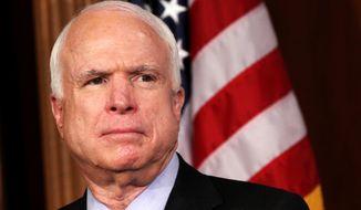 Sen. John McCain, Arizona Republican (Associated Press)