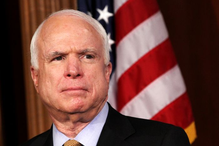 Sen. John McCain, Arizona Republican (Associated Press)