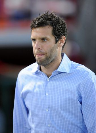 **FILE** D.C. United coach Ben Olsen (Associated Press)