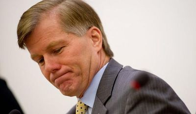 Virginia Gov. Bob McDonnell removed a representative to the Metropolitan Washington Airports Authority, contending he had a conflict of interest. (Andrew Harnik/The Washington Times)