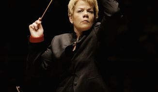 The Baltimore Symphony Orchestra, led by music director Marin Alsop, uses YouTube to promote its guest artists and upcoming season. (Baltimore Symphony Orchestra photograph)