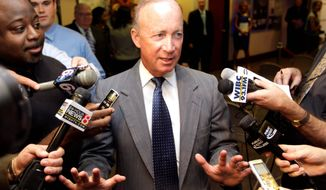Indiana Gov. Mitch Daniels. (AP Photo/Michael Conroy)