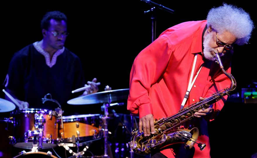 Tenor sax legend Sonny Rollins took home three honors from the Jazz Awards ceremony last week. (Associated Press)