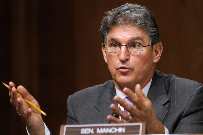 Sen. Joe Manchin III, West Virginia Democrat (Associated Press)