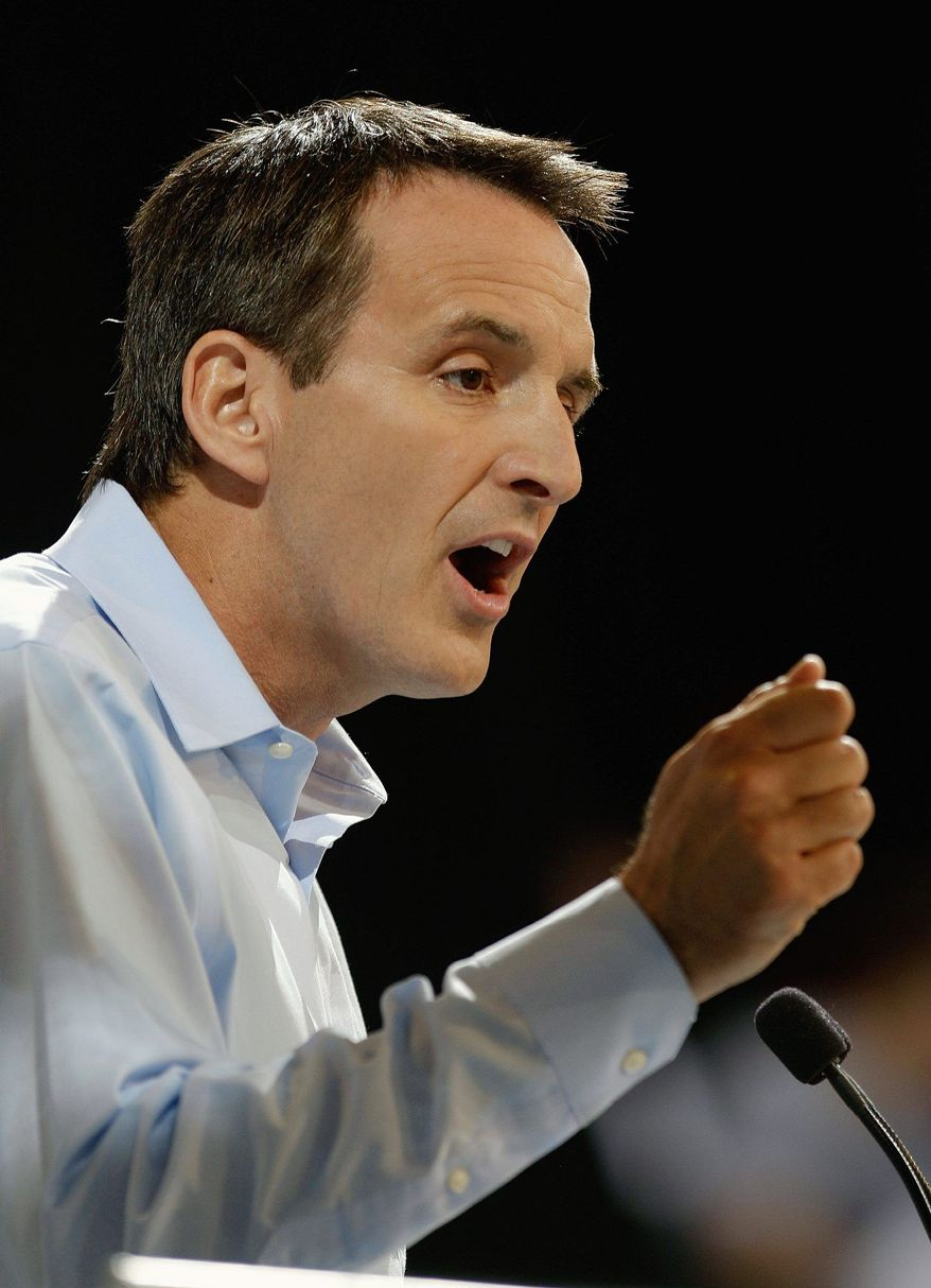 Former Minnesota Gov. Tim Pawlenty said Sunday he's told Mitt Romney's campaign that he is not interested in running as vice president. (Associated Press)