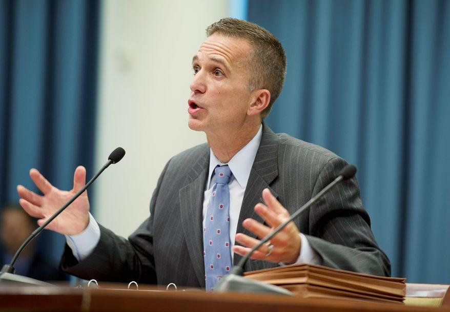 Former D.C. Attorney General Robert Spagnoletti (Barbara L. Salisbury/The Washington Times)