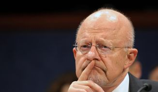 Director of National Intelligence James R. Clapper on Monday announced two steps to squelch leaks of classified information after disclosures about national security. (Associated Press)