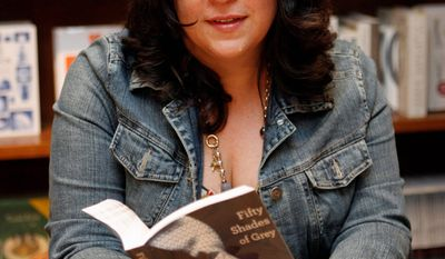 """Author E.L. James, whose """"Fifty Shades"""" erotic trilogy has sold 16 million copies since its spring U.S. release, will sign her books July 12 at Comic Con in San Diego."""