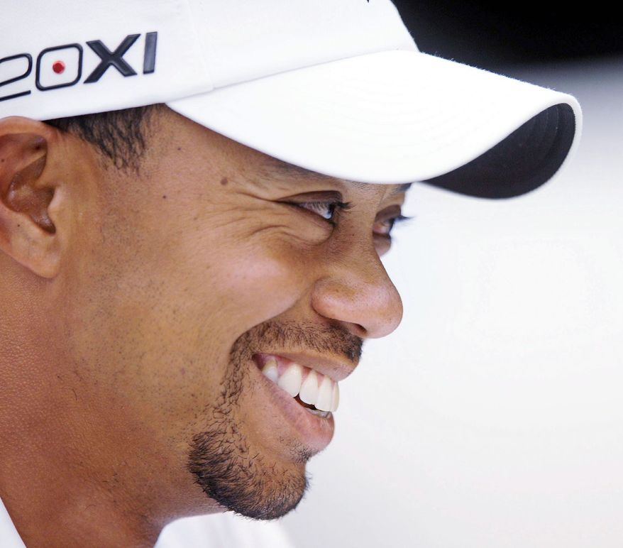 Tiger Woods has victories this year at Bay Hill and in the Memorial. He won the AT&T National at Congressional in 2009. (Andrew Harnik/The Washington Times)