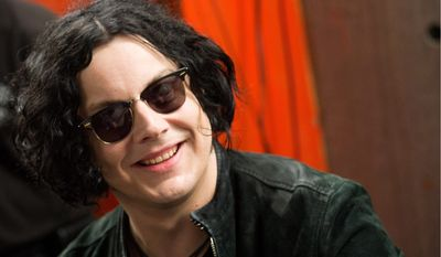Singer Jack White has been added to the lineup for this fall's 2012 Voodoo Music and Arts Experience in New Orleans. (Associated Press)