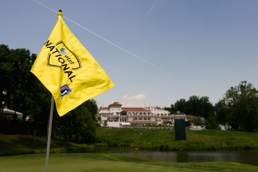 The AT&T National held at Congressional Country Club in Bethesda begins Thursday. (Andrew Harnik/The Washington Times)