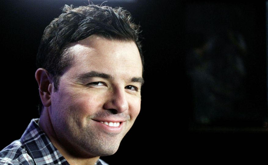 """Seth MacFarlane, TV's """"Family Guy"""" creator, has funded the collection and organization of the work of Carl Sagan for donation to the Library of Congress. (Associated Press)"""