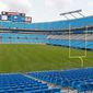 President Obama will make his acceptance speech from a stage to be set up at Bank of America Stadium during the Democratic National Convention in Charlotte, N.C. in September. Fundraising shortfalls, labor boycotts and scheduling problems have snarled convention plans. (Associated Press)